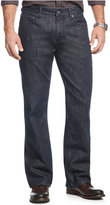 Alfani Big and Tall Jackson Straight-Leg Bootcut Jeans, Dark Blue Wash, Only at Macy's
