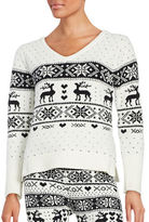 Betsey Johnson Patterned Knit Sweater