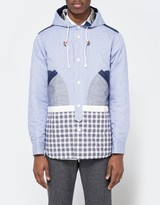 Junya Watanabe Cotton Twill Check Jacket