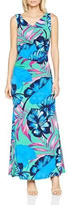 Gina Bacconi Women's Vita Tropical Print Maxi Party Dress