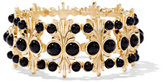 New York & Co. Eva Mendes Collection - Beaded Goldtone Bracelet