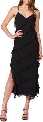 Bardot Deco Sleeveless Midi Dress