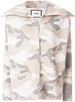 Max & Moi camouflage printed jacket