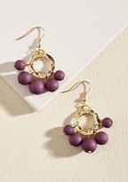 Burst Your Bauble Earrings in Grape