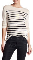 The Kooples Long Sleeve Wool Blend Sweater