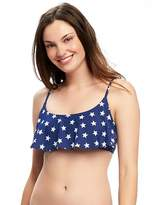 Old Navy Ruffle-Trim Bandeau Bikini Top for Women