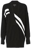 Rag & Bone Grace V-Neck Black Sweater