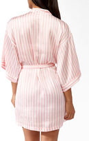 Forever 21 Vertical Stripe Sleep Robe