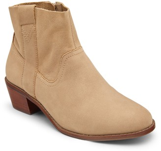Vionic Leather Ankle Boots - Roselyn Nubuck