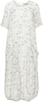 Isolde Roth Plus Size Linen cocoon dress