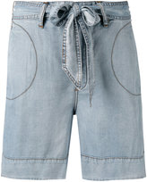 Diesel denim shorts - women - Lyocell - 25