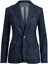 Polo Ralph Lauren Ralph Lauren Single-Button Denim Blazer