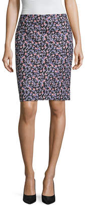 Liz Claiborne Double Cotton Pencil Skirt