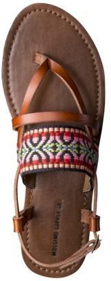 Mossimo Women's Sonora Flat Sandal - Multicolor