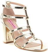 Betsey Johnson Elle Strappy Dress Sandals