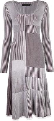 Proenza Schouler Patchwork Knitted Dress