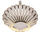 Ainemay Bonjanvye Mini Seashell Purses For Women Clutch Handbags For Girls