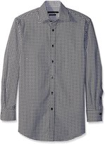Sean John Men's Tailored Fit Circle Print