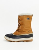 Sorel SOREL Pac nylon snow boots in tan
