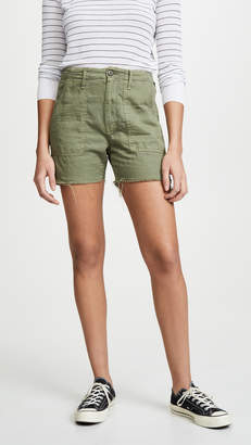 Mother The Shaker Chop Shorts