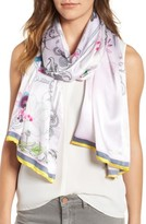 Ted Baker Women's Passion Flower Silk Scarf