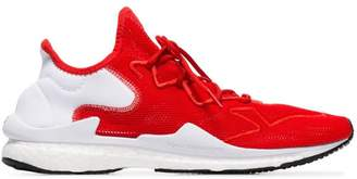 Y-3 red Adizero Runner low-top sneakers