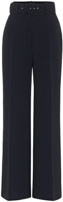 Emilia Wickstead Jana high-rise wide-leg pants