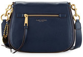 Marc Jacobs Recruit Leather Saddle Bag, Navy