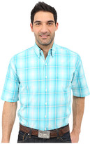 Stetson Crystal Ombre Button Front Two-Pocket Short Sleeve Shirt