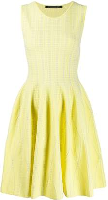 Valenti Antonino sleeveless flared dress