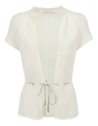 Fabiana Filippi White Cotton Knitwear for Women Vintage