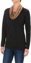 Ibex Dyad Cowl Neck Shirt - Merino Wool, Long Sleeve (For Women)