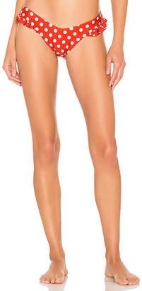 Luli Fama Macarena Ruffle Sides Bikini Bottom