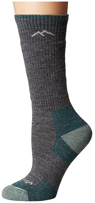 Darn Tough Vermont Merino Wool Boot Socks Cushion (Slate) Women's Crew Cut Socks Shoes