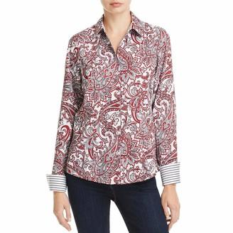 Foxcroft Women's Long Sleeve Lauren Romantic Paisley Shirt