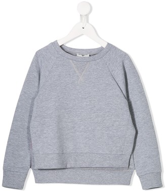 MonnaLisa Logo Tape Sweatshirt