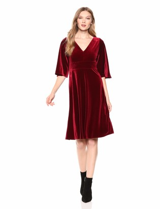 Only Hearts Women's Velvet Underground Low Back Dress