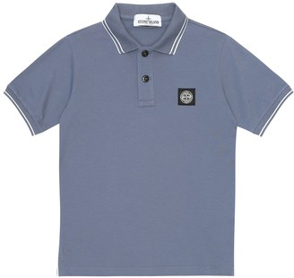 Stone Island Junior Cotton polo top