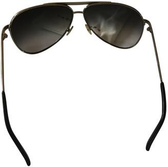 Marc Jacobs Silver Metal Sunglasses