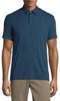 Theory Bron Short-Sleeve Jersey Polo Shirt, Beyond