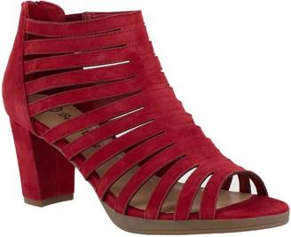 Bella Vita Leather Caged Sandals - Maisie