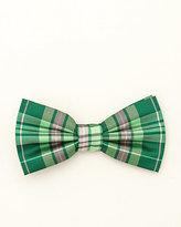 Le Château Check Print Bow Tie