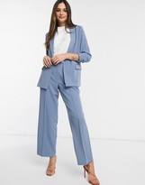 Y.A.S tailored pants two-piece in blue