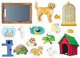 Little Folk Visuals - My Pets Felt Board Figure Set