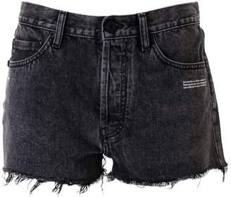 Off-White Off White Dark Grey Shorts
