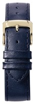 Speidel Stitched Calfskin Replacement Watchband Fits 14mm - Navy