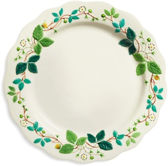Tory Burch Embossed Flower Dinner Plate, Set Of 2