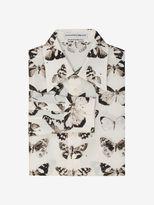 Alexander McQueen Victorian Moth Printed Shirt