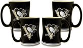 Pittsburgh Penguins 4-pk. Sculpted Relief Mug