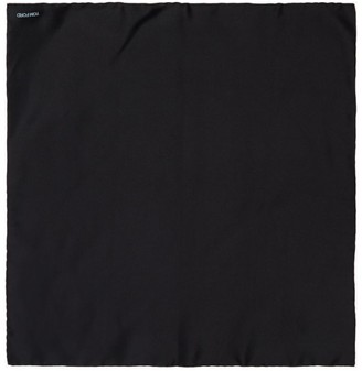 Tom Ford Silk Contrast-Trim Pocket Square
